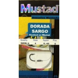 MUSTAD DORADA/SARGO