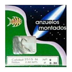 KALI 2515-N FORJADO NIQUELADO RECTO